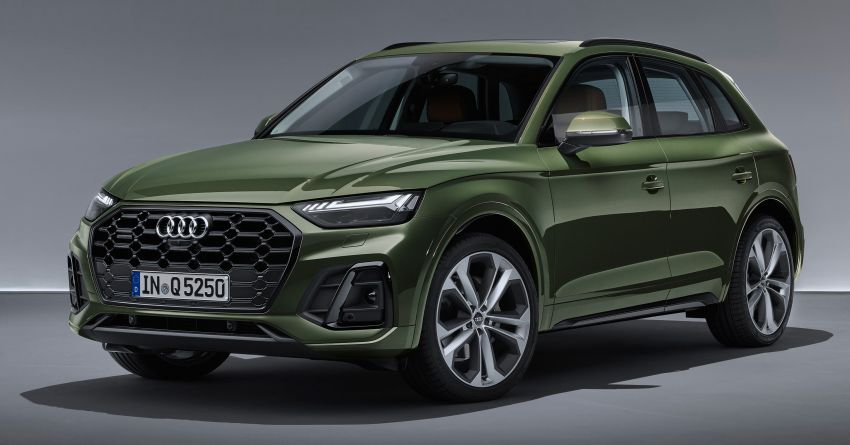 2020 Audi Q5 facelift debuts – updated styling; MIB3 infotainment system; mild hybrid, PHEV powertrains Image #1137838
