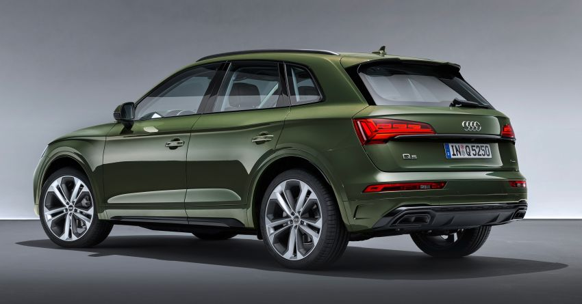 2020 Audi Q5 facelift debuts – updated styling; MIB3 infotainment system; mild hybrid, PHEV powertrains Image #1137840