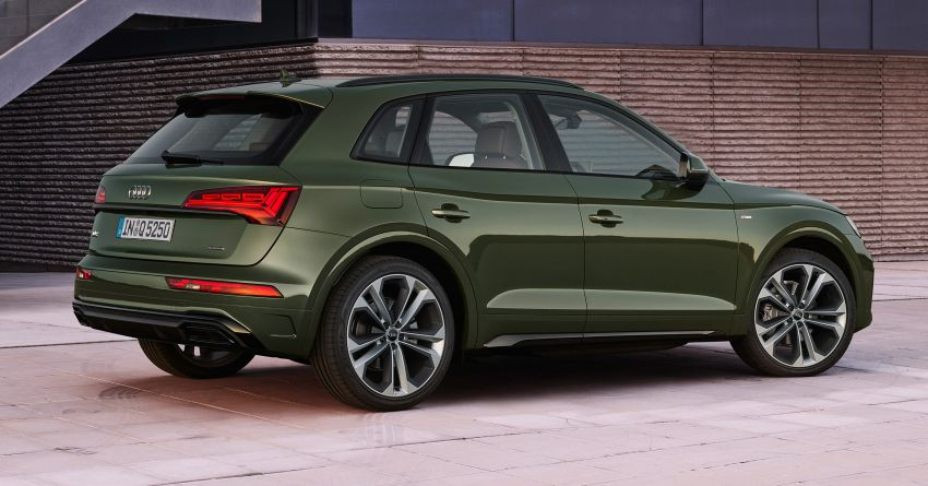 2020 Audi Q5 facelift debuts – updated styling; MIB3 infotainment system; mild hybrid, PHEV powertrains Image #1137794