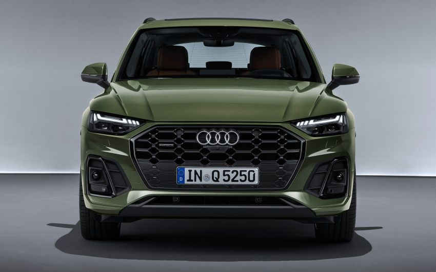 2020 Audi Q5 facelift debuts – updated styling; MIB3 infotainment system; mild hybrid, PHEV powertrains Image #1137841