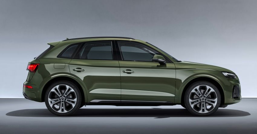 2020 Audi Q5 facelift debuts – updated styling; MIB3 infotainment system; mild hybrid, PHEV powertrains Image #1137843