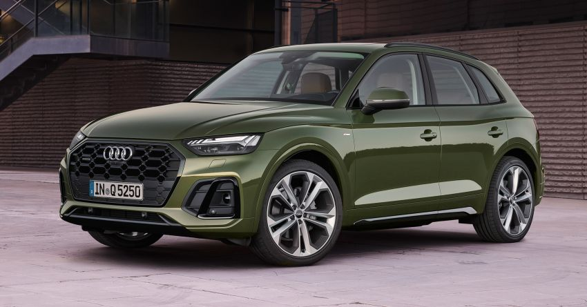2020 Audi Q5 facelift debuts – updated styling; MIB3 infotainment system; mild hybrid, PHEV powertrains Image #1137795