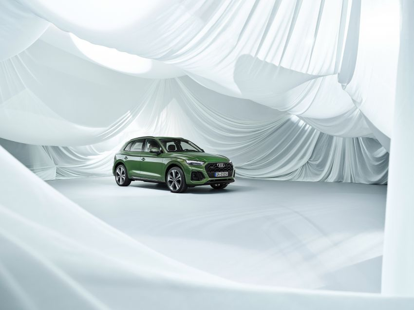 2020 Audi Q5 facelift debuts – updated styling; MIB3 infotainment system; mild hybrid, PHEV powertrains Image #1137861
