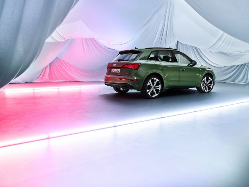 2020 Audi Q5 facelift debuts – updated styling; MIB3 infotainment system; mild hybrid, PHEV powertrains Image #1137864