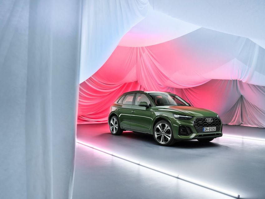 2020 Audi Q5 facelift debuts – updated styling; MIB3 infotainment system; mild hybrid, PHEV powertrains Image #1137867
