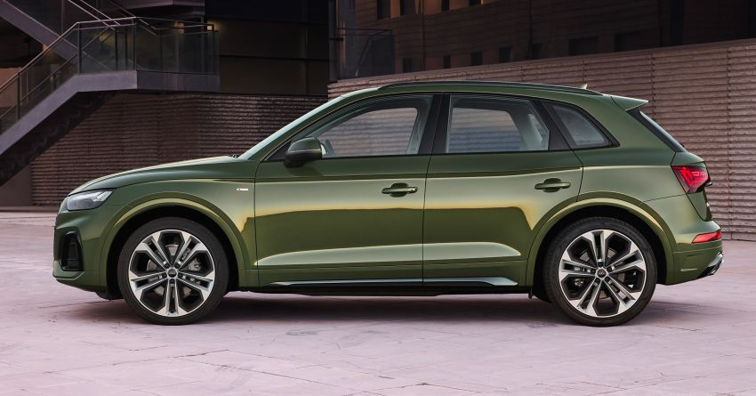 2020 Audi Q5 facelift debuts – updated styling; MIB3 infotainment system; mild hybrid, PHEV powertrains Image #1137796