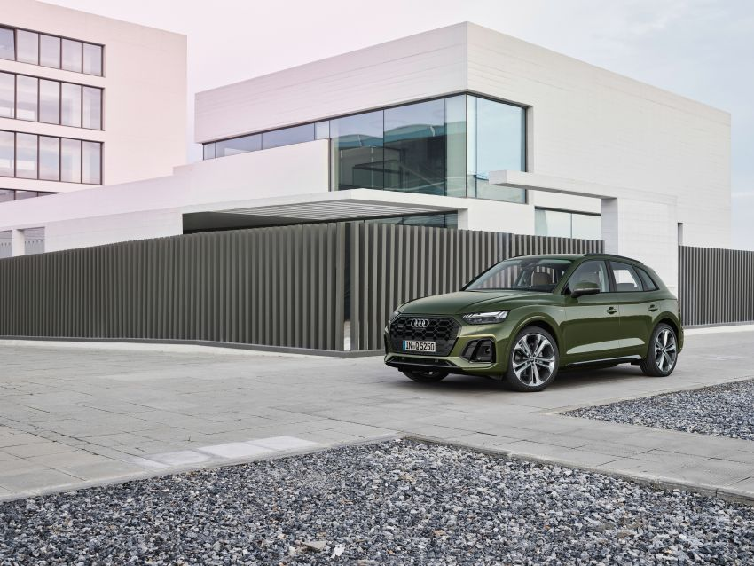 2020 Audi Q5 facelift debuts – updated styling; MIB3 infotainment system; mild hybrid, PHEV powertrains Image #1137797