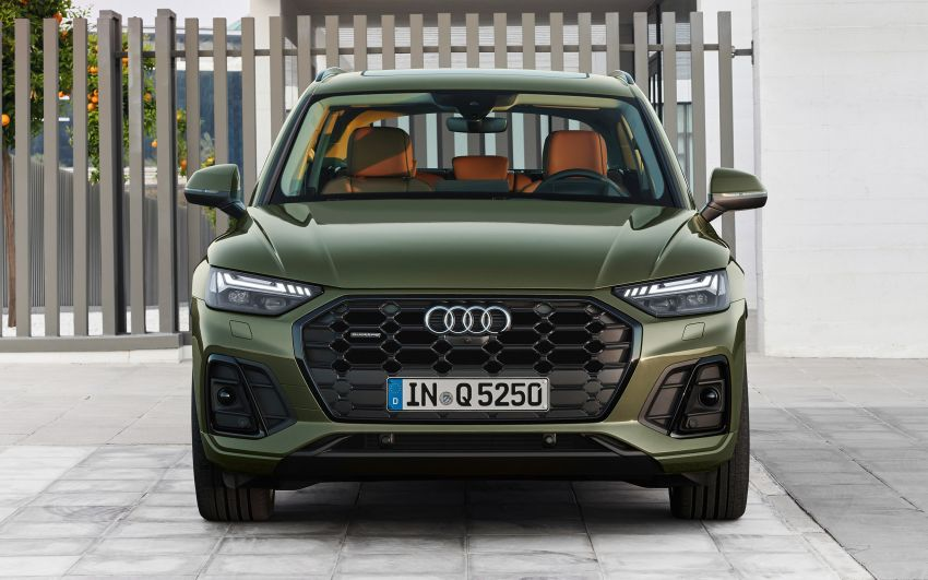 2020 Audi Q5 facelift debuts – updated styling; MIB3 infotainment system; mild hybrid, PHEV powertrains Image #1137798