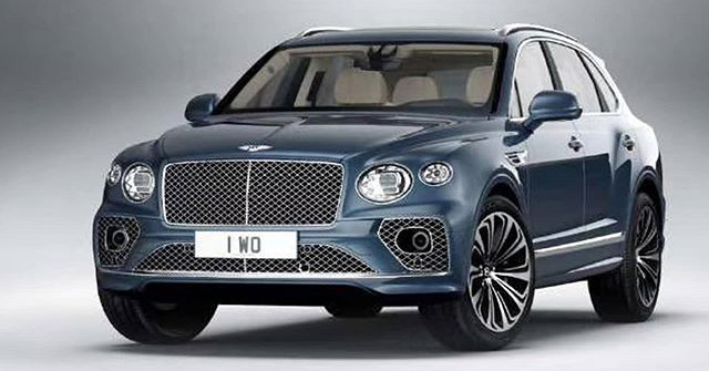 Bentley Bentayga facelift leaked before official debut Image #1133623