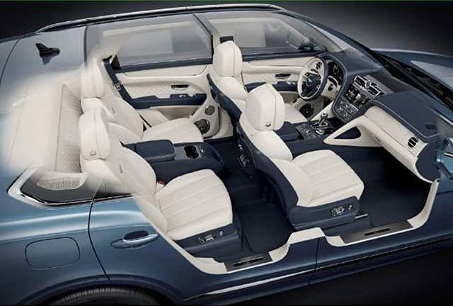 Bentley Bentayga facelift leaked before official debut Image #1133624