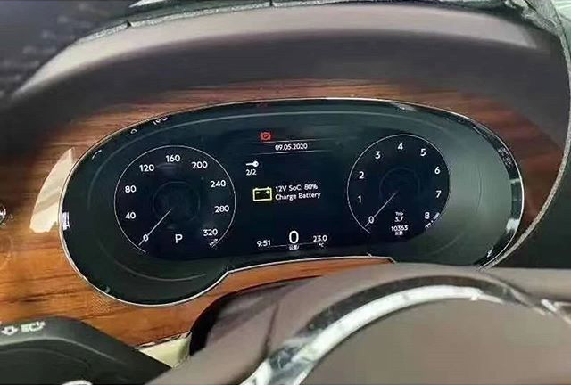 Bentley Bentayga facelift leaked before official debut Image #1133625