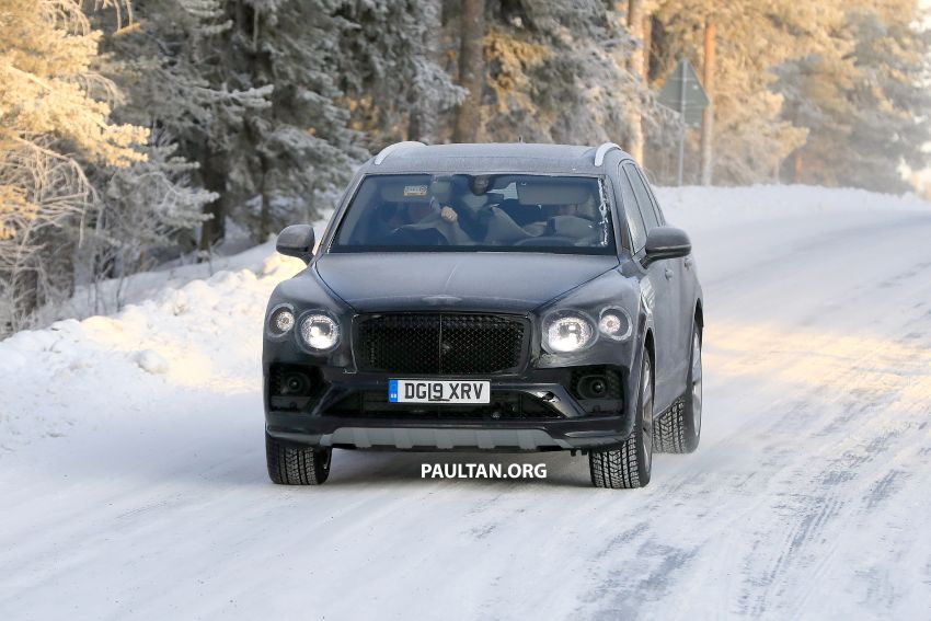Bentley Bentayga facelift leaked before official debut Image #1133636