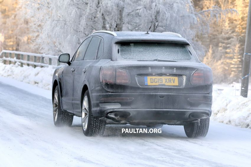 Bentley Bentayga facelift leaked before official debut Image #1133647