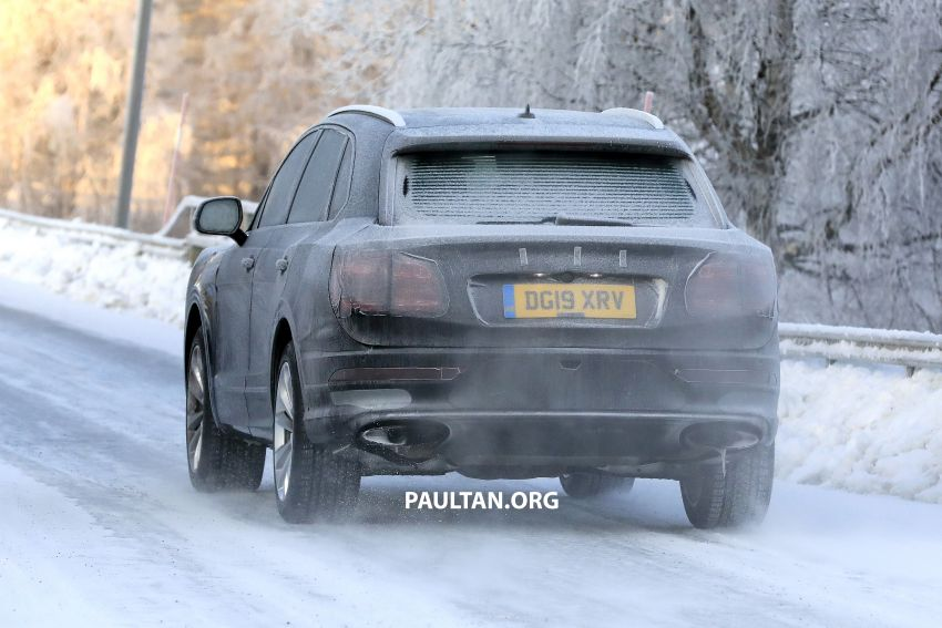 Bentley Bentayga facelift leaked before official debut Image #1133649