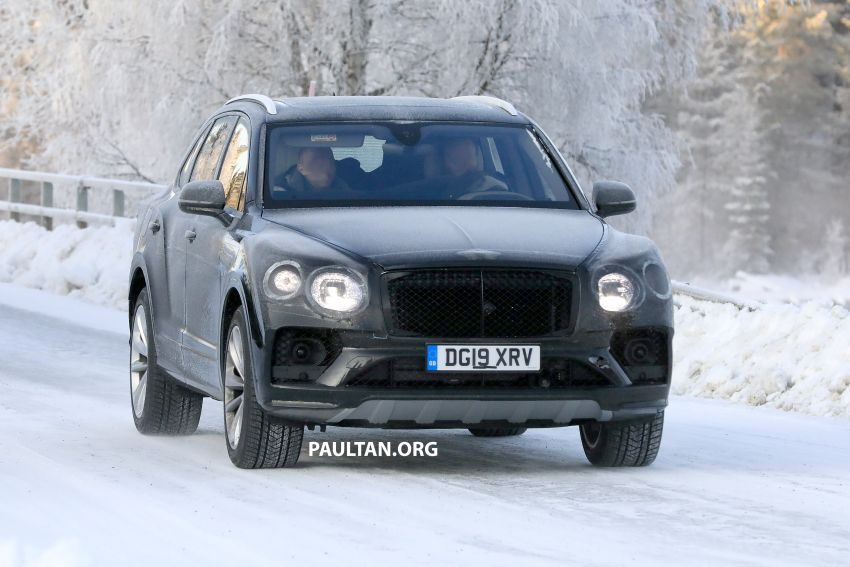 Bentley Bentayga facelift leaked before official debut Image #1133650