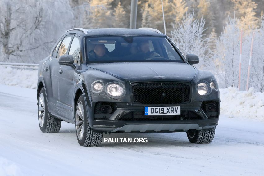 Bentley Bentayga facelift leaked before official debut Image #1133651