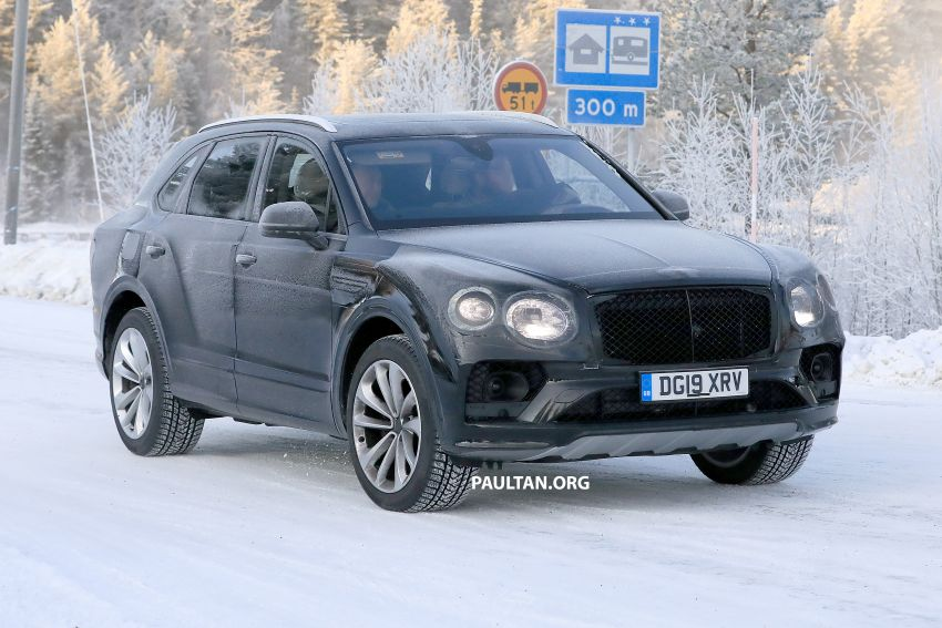 Bentley Bentayga facelift leaked before official debut Image #1133652