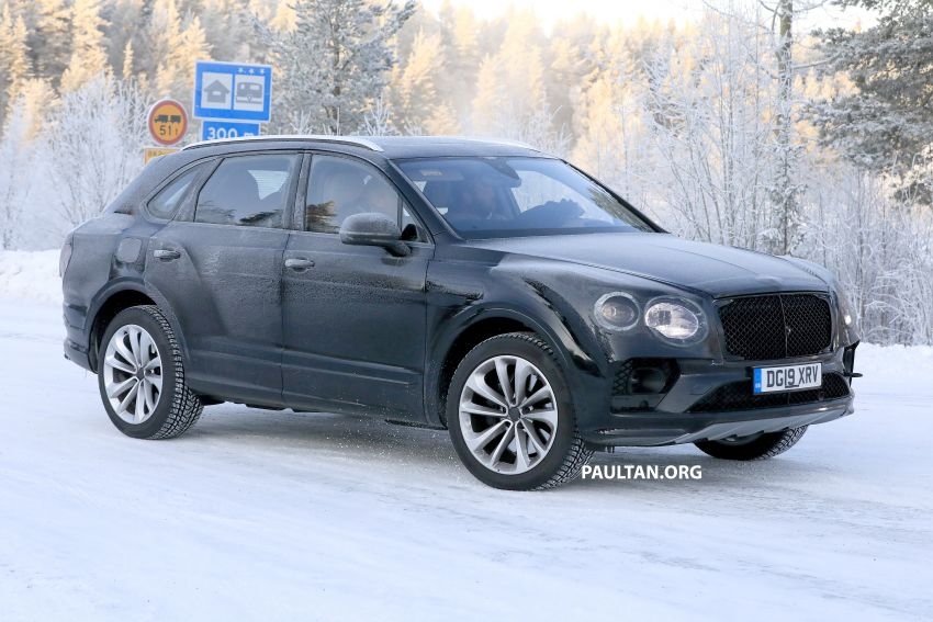 Bentley Bentayga facelift leaked before official debut Image #1133653
