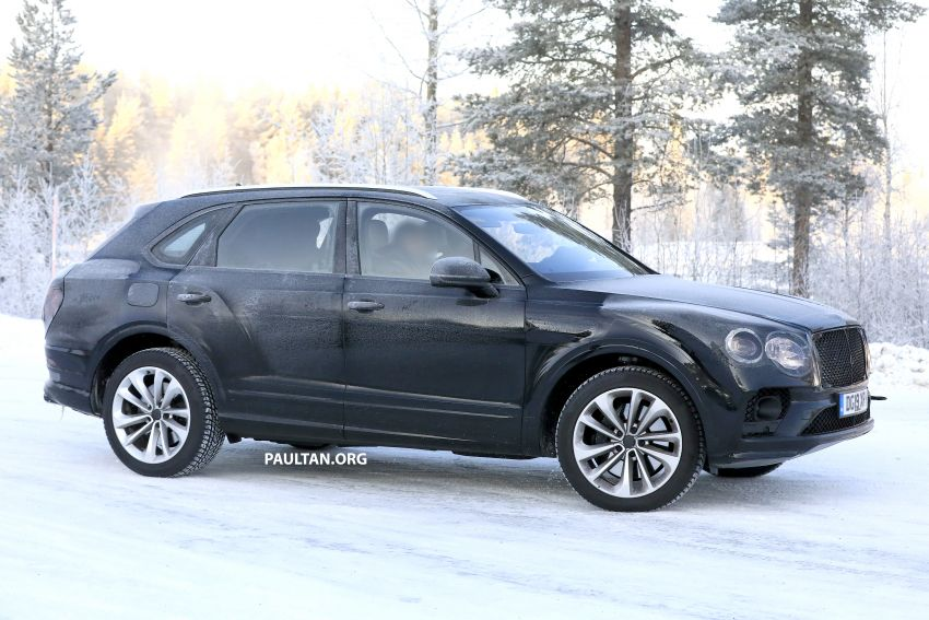 Bentley Bentayga facelift leaked before official debut Image #1133654