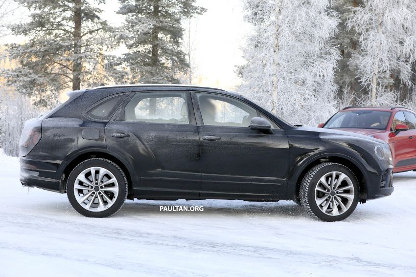 Bentley Bentayga facelift leaked before official debut Image #1133656