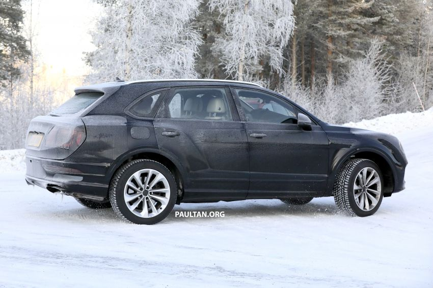 Bentley Bentayga facelift leaked before official debut Image #1133657