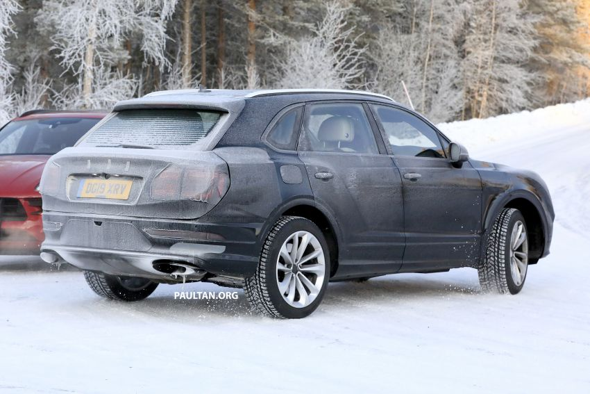 Bentley Bentayga facelift leaked before official debut Image #1133658