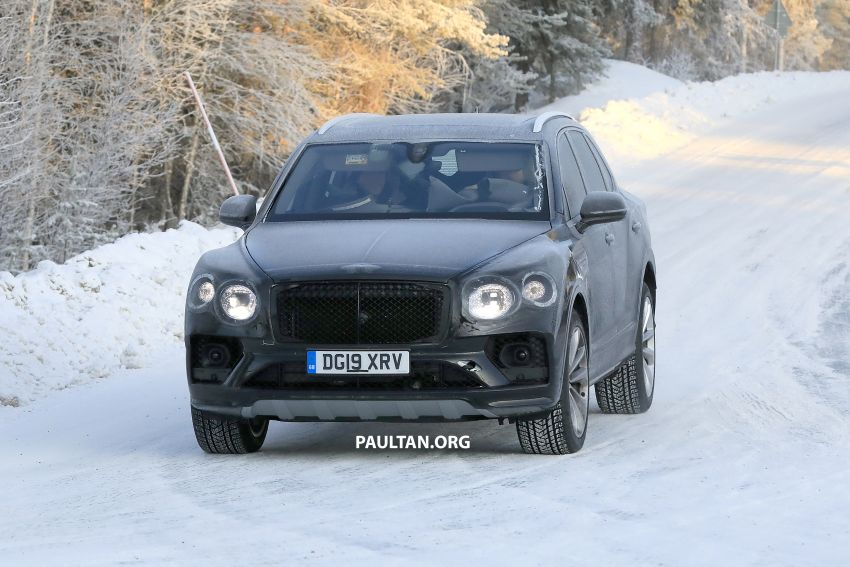 Bentley Bentayga facelift leaked before official debut Image #1133637