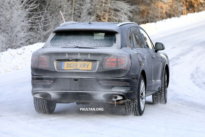 Bentley Bentayga facelift leaked before official debut Image #1133662