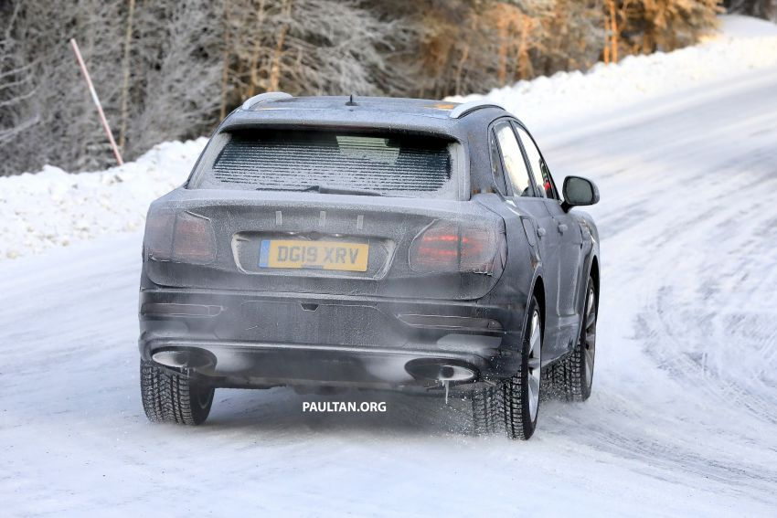 Bentley Bentayga facelift leaked before official debut Image #1133663