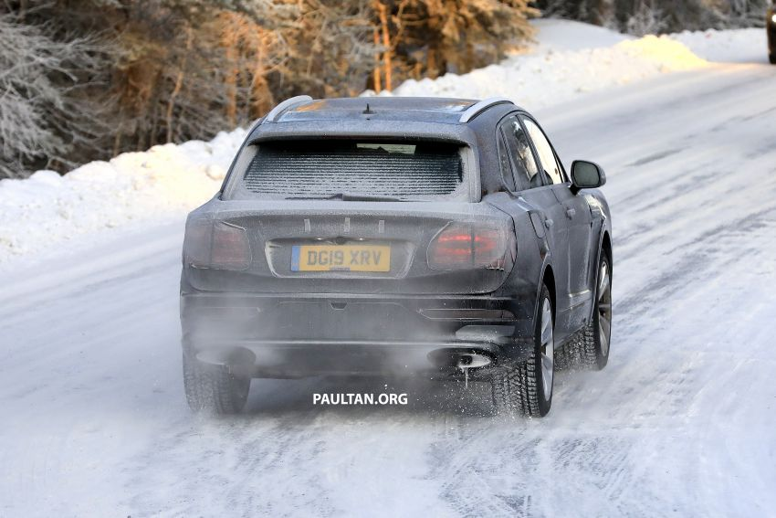 Bentley Bentayga facelift leaked before official debut Image #1133664