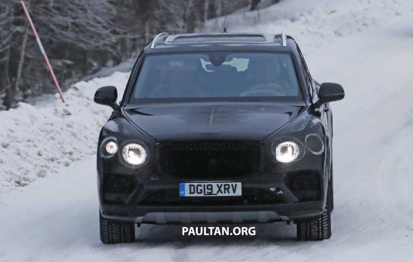 Bentley Bentayga facelift leaked before official debut Image #1133665