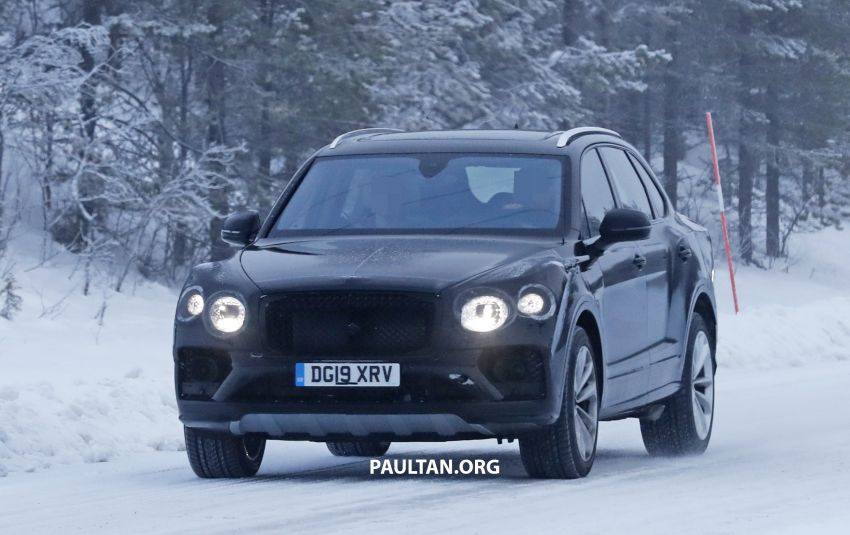 Bentley Bentayga facelift leaked before official debut Image #1133666