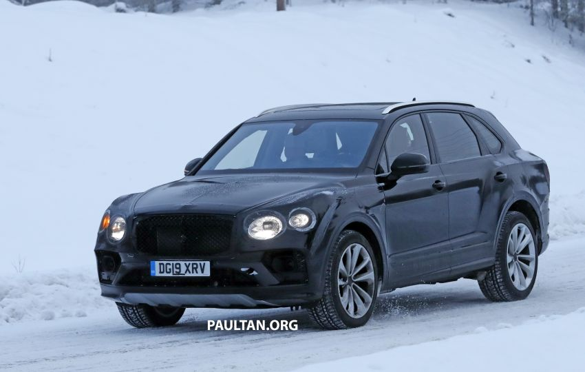 Bentley Bentayga facelift leaked before official debut Image #1133668