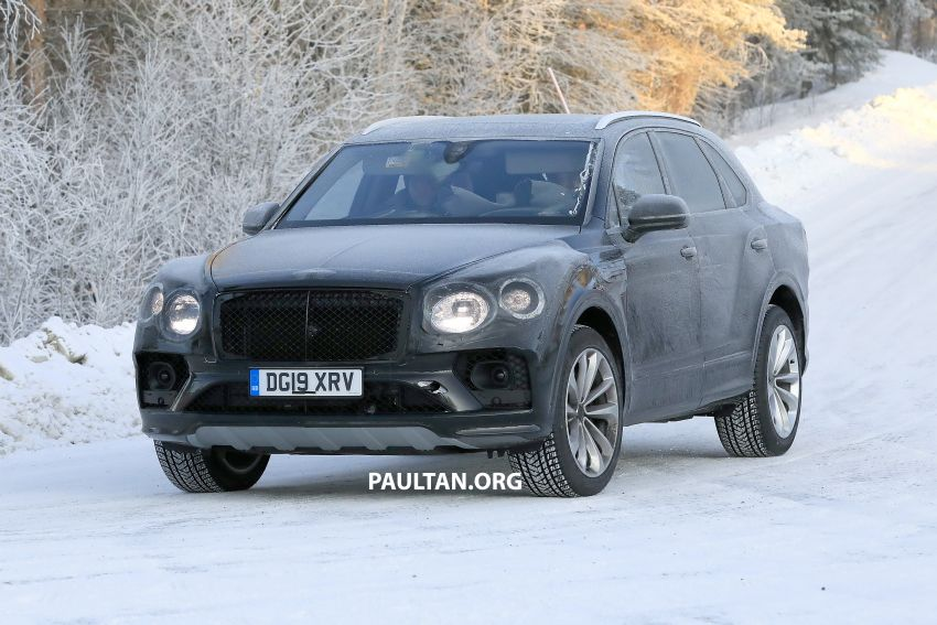 Bentley Bentayga facelift leaked before official debut Image #1133639