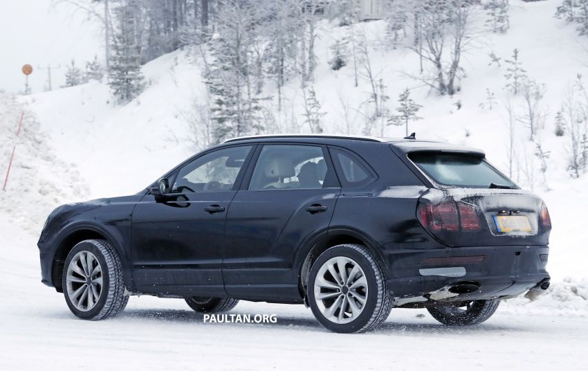 Bentley Bentayga facelift leaked before official debut Image #1133672