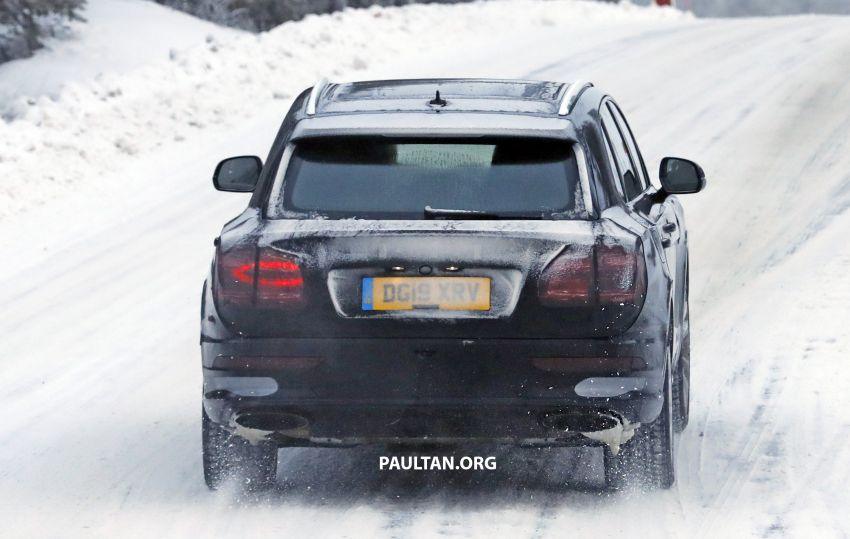 Bentley Bentayga facelift leaked before official debut Image #1133675