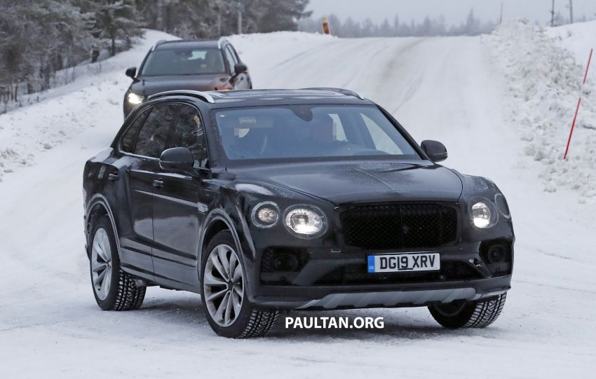 Bentley Bentayga facelift leaked before official debut Image #1133676