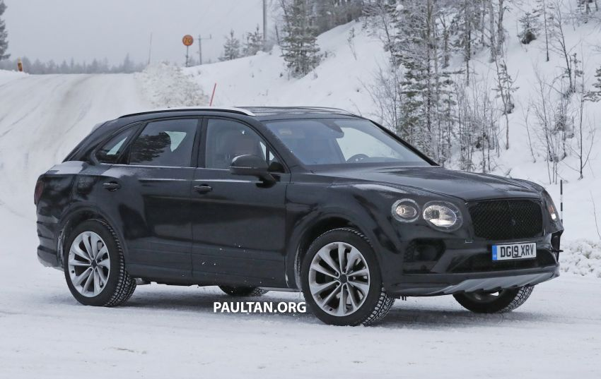 Bentley Bentayga facelift leaked before official debut Image #1133677