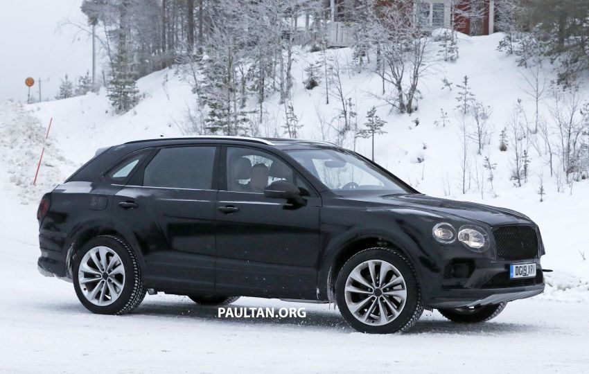 Bentley Bentayga facelift leaked before official debut Image #1133678
