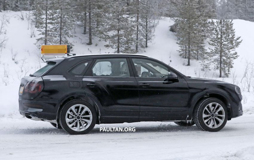Bentley Bentayga facelift leaked before official debut Image #1133680