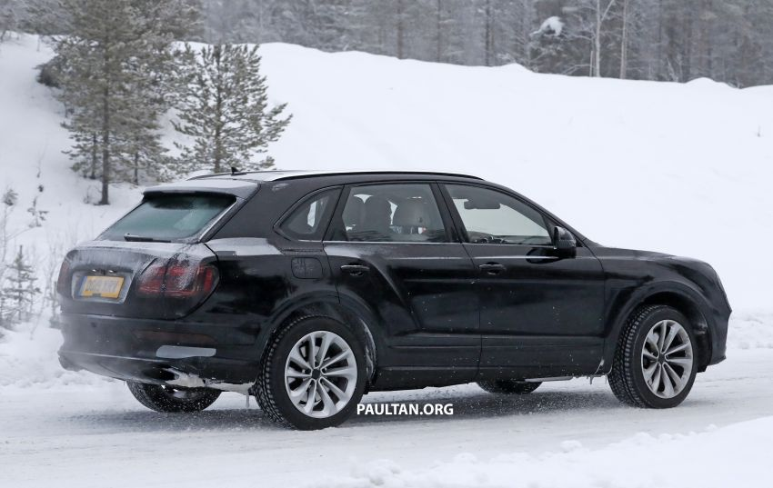 Bentley Bentayga facelift leaked before official debut Image #1133681