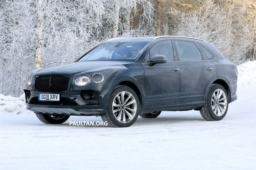 Bentley Bentayga facelift leaked before official debut Image #1133640