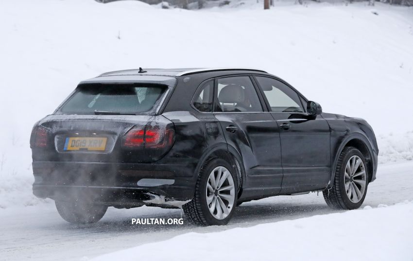 Bentley Bentayga facelift leaked before official debut Image #1133682