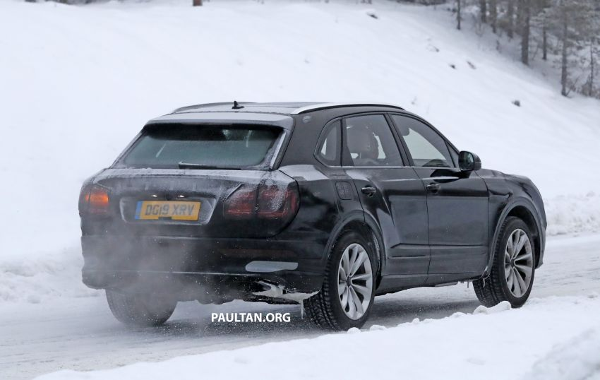 Bentley Bentayga facelift leaked before official debut Image #1133683