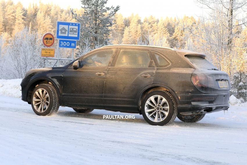 Bentley Bentayga facelift leaked before official debut Image #1133643