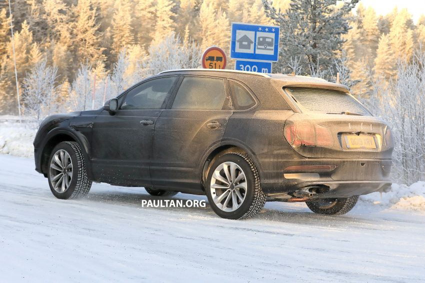 Bentley Bentayga facelift leaked before official debut Image #1133644
