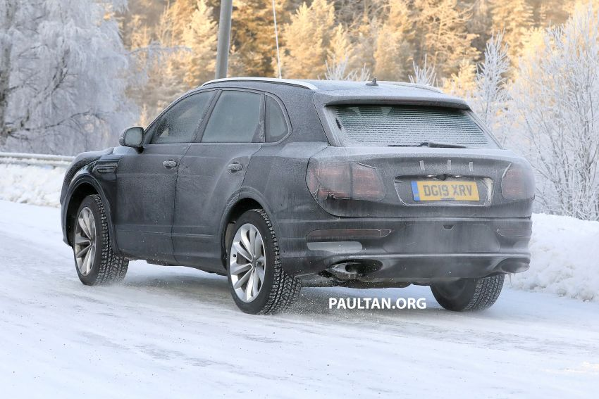 Bentley Bentayga facelift leaked before official debut Image #1133646