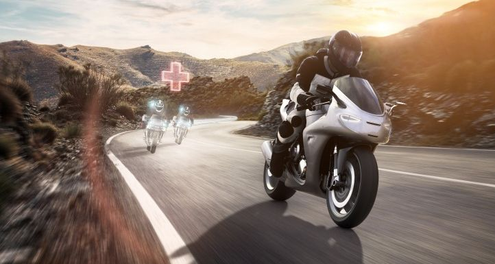 Bosch Help Connect for motorcycle emergencies Image #1127648