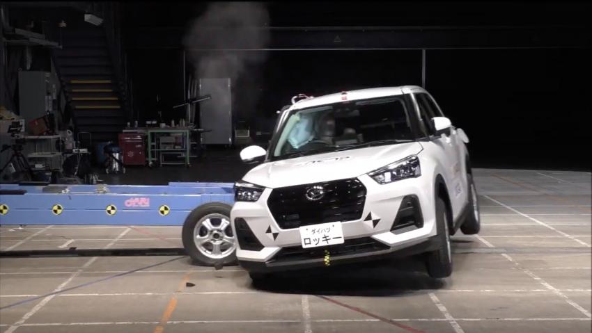 Daihatsu Rocky awarded five-star JNCAP safety rating Image #1252509