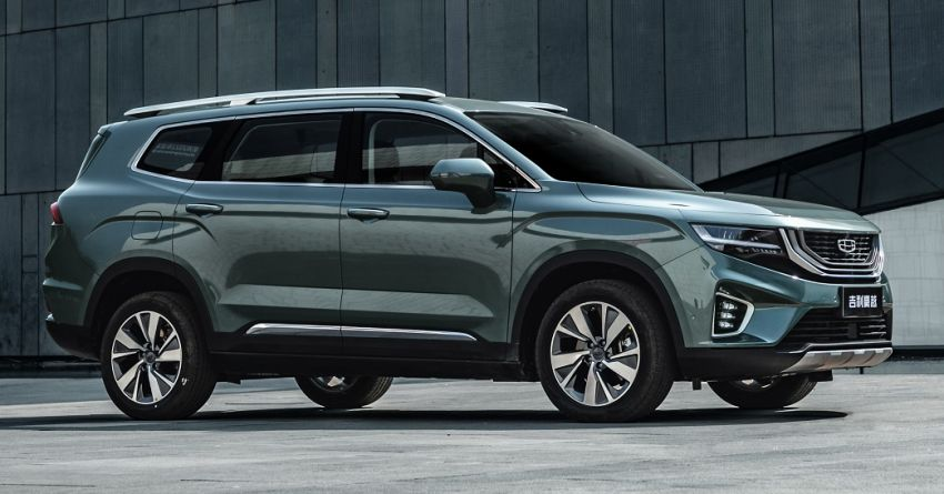 2020 Geely Haoyue VX11 officially launched in China – colossal D-segment SUV priced from RM62k to RM84k Image #1135908